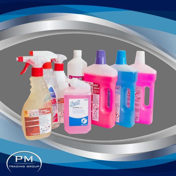 Професионални препарати за почистване
